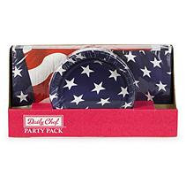 Daily Chef Liberty Pack Snack Plates and Luncheon Napkins (150ct.)