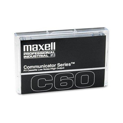 Maxell 60 Minutes Communicator Series Audio Cassette 10 EA/BX