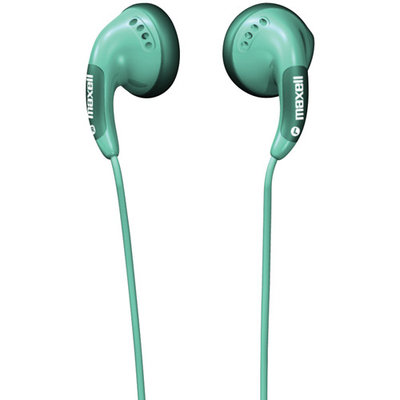 Maxell Color Buds Stereo Earphone - Wired Connectivity - Stereo - Earbud - Green