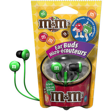 Maxell 190557 - Mmebg M & M'S Earbuds, Green