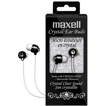 Maxell CEB-Black (190336) Canal Crystal Earphone
