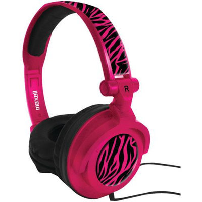 Maxell 190220 - Amppz Amplified Heavy Bass Headphones (Hot Pink)