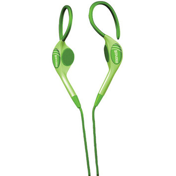 Maxell Stereo Earhook - Neon Green