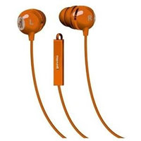 Maxell Classic Earbud with Mic Orange
