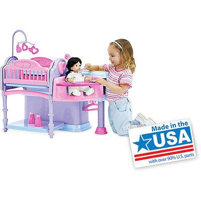 Deluxe Doll Nursery, 10-Piece Play Set