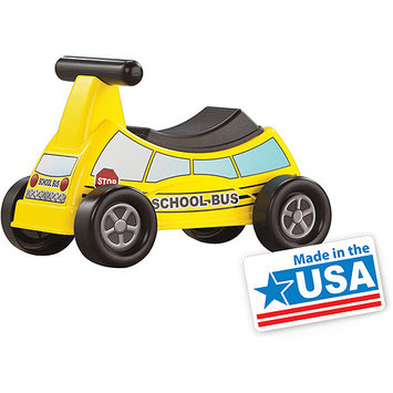 American Plastic Toys Inc American Plastic Toys School Bus Ride-On