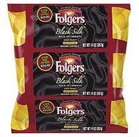 Folgers Coffee - Black Silk (Dark Roast) - 40/1.40oz Filter Pack
