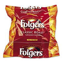 Folgers Coffee Filter Packs, Regular, .9 oz, 160/Box