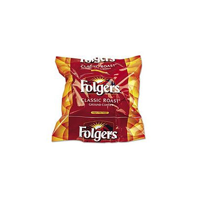 Folgers Coffee Filter Packs, Regular, .9 oz, 160/Box