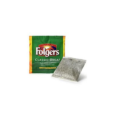 Folgers Fruit Juices Coffee Filter Packs, Decaffeinated, In-Room
