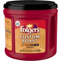 Folgers Custom Roast Mild Ground Coffee, 31.1 oz