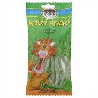 Paskesz Sour Stix Apple -Pack of 24