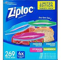 Ziploc Starter Pack (269ct.)