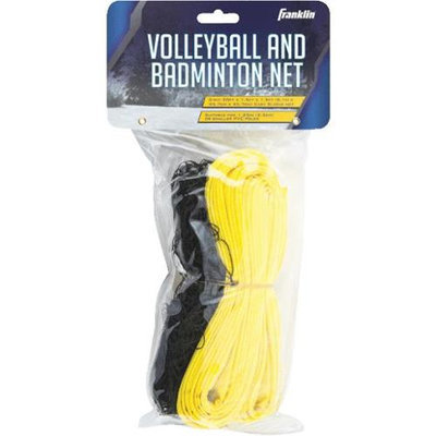 Franklin Sports Volleyball and Badminton Net Game Set
