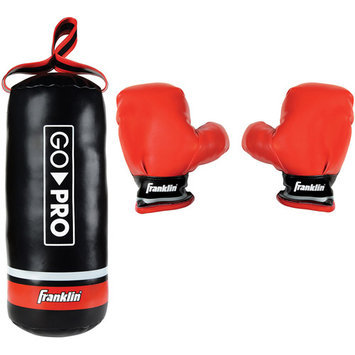 Franklin Go Pro Soft Sport Punching Bag & Glove Set