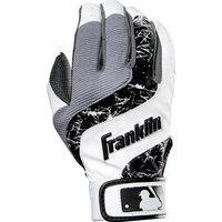 Franklin Sports Shok-Wave Batting Glove Black/Purple/Pink Youth Medium