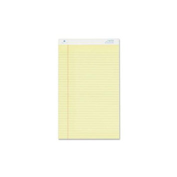 Sparco SPR-2014 Legal Ruled Pad - 50 Sheet[s] - 16lb - Legal Ruled - Legal 8.5 X 14 - 12 / Pack - Canary