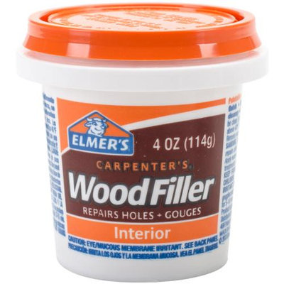 Elmers E847D12 1/4 Pint Carpenters Wood Filler