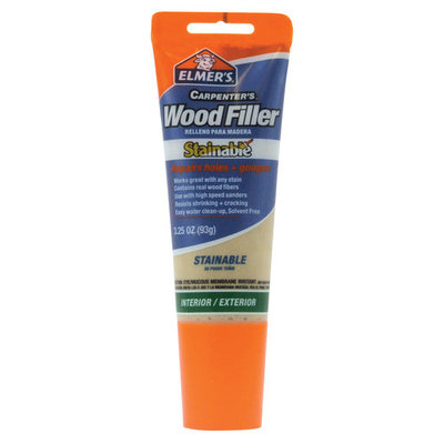 Elmers-xacto 8 Oz Stainable Wood Filler E887Q