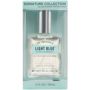 Adfs Cologne Designer Imposters Our Impression of Light Blue by Dolce & Gabbana Eau de Toilette, 2 fl oz