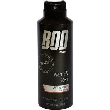 BOD Man Men's Black 6 Ounce Body Spray - PARFUMS DE COEUR