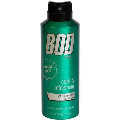 BOD Man Fresh Guy Cologne Strength Body Spray, 6 oz