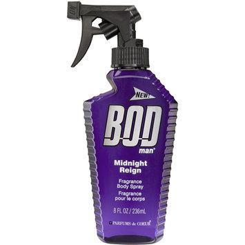 Bod Man Midnight Reign Fragrance Body Spray, 8 fl oz