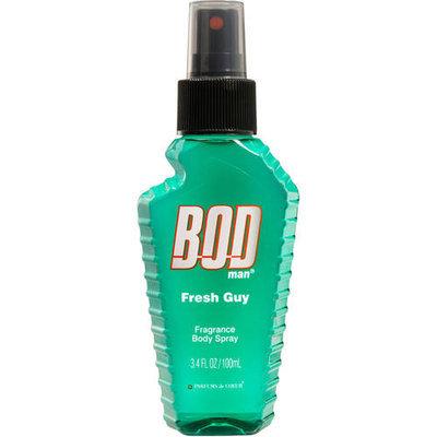 BOD Man Fresh Guy Fragrance Body Spray, 3.4 fl oz