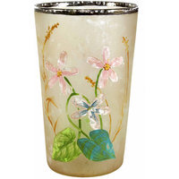 Teters Floral Products 2.5-inch x 4-inch Floral Painted Votive Holder (Pack of 6)