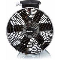 Shop Vac Shop-vac Ceiling Fan - 14 Diameter - Stainless Steel (1034100)