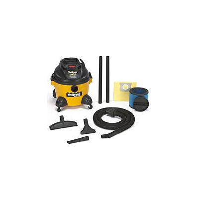 Shop Vac Wet Dry Vacuums Compact Vacuum Cleaner, Yellow/Black