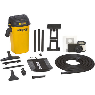 Shop Vac - Vacs Shop Vac 3942000 Wall Mount Shop Vacuum, 5 gallon