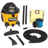 Shop Vac Wet/Dry Vacuum - 10-Gallon Tank, 4 HP, Model# 9625010