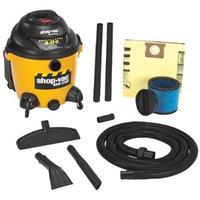 Shop Vac Wet/Dry Vacuum - 10-Gallon Tank, 4 HP, Model# 9625010