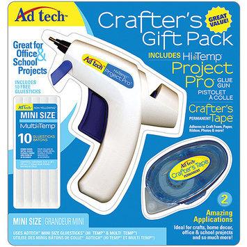 Ad-tech Crafter Gift Pack - Glue Gun -12 Piece Set