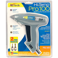 Ad-tech Pro 100 High Temp Full Size Glue Gun W/Nozzle Pack