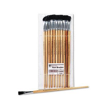Charles Leonard Co. Easel Board Paint Brush, 1/2