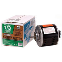 Dial Manufacturing Inc 2202 Evaporative Cooler Motor - 1/3HP - 2-Speed