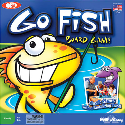 POOF-Slinky 0C689 Ideal Go Fish Board Game
