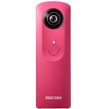 Ricoh Theta m15 Spherical Digital Camera - Pink