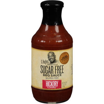 G Hughes Sauce Bbq Sf Hickory 18 Oz. Pack Of 6