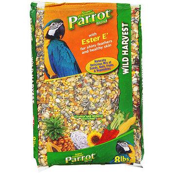 8 In 1 Wild Harvest Bird Food Parrot - 8 lbs