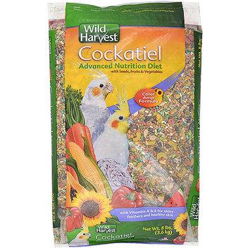 8 In 1 Wild Harvest Bird Food Cockatiel - 8 lbs