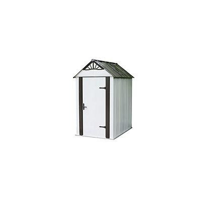 Arrow Galvanized Steel Storage Shed (Common: 4-ft x 6-ft; Interior Dimensions: 4.09-ft x 5.94-ft) DSM46