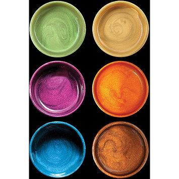 Luminarte 30726 Silks Acrylic Glaze 10ml Jars 6-Pkg-Autumn Splendor