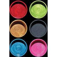 Luminarte 30728 Silks Acrylic Glaze 10ml Jars 6-Pkg-Goodnight Kiss