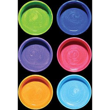 Luminarte 30729 Silks Acrylic Glaze 10ml Jars 6-Pkg-Fruit Punch