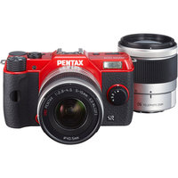 Pentax 12195 Q10 02 Zoom Lens Kit Red
