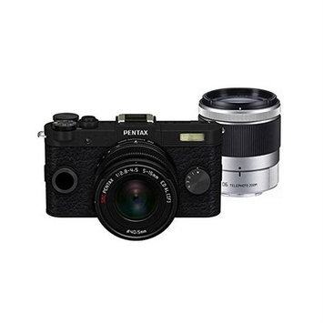 Pentax 6085 Q-s1 Blk 12.4mp 3in Dig Cam Perp Mirrorless 02 06 Zoom Lens Kit