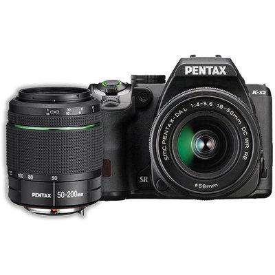 Pentax K-s2 20.1 Megapixel Digital Slr Camera With Lens - 18mm - 50mm - Black, Orange - 3 Lcd - 169 - 2.8x Optical Zoom - P-ttl - 5472 X 3648 Image - 1920 X 1080 Video - Hdmi - Hd Movie (13207 2)